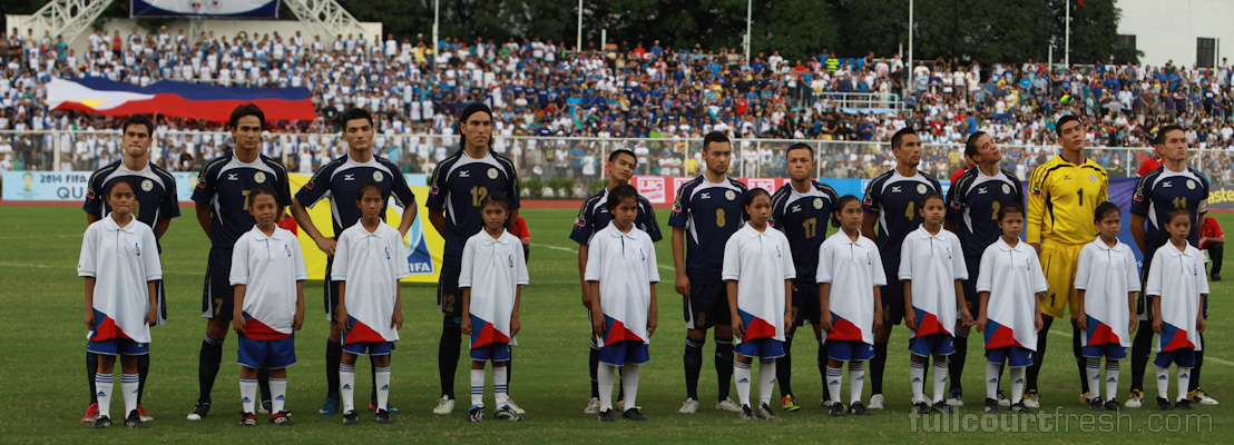 The Azkals' first XI circa 2011. Photo by Jenner Ong