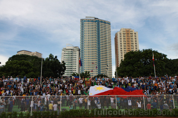 Remember when even the bleachers were filled with people? We do to. this was taken in 2011, when the Azkals played Sri Lanka at home for the 2014 FIFA World Cup Qualifiers. We won then.