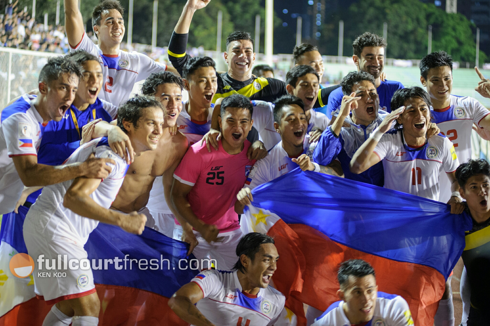 The Azkals beat powerhouse North Korea in a 3-2 thriller at home two years ago. Photo by Ken Koo