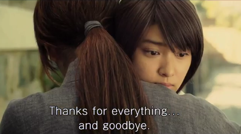 """Or maybe it's just that part of me wanting to hug Emi Takei at that part, and whisper """"everything's going to be fine, dear."""""""